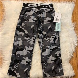 Boys Hurley camouflage pajama pants 4